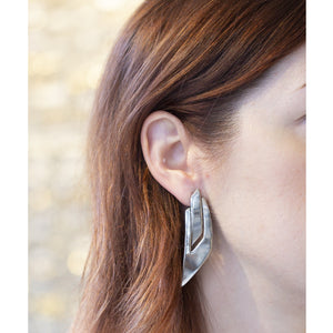 Vintage Silver Tone Earrings