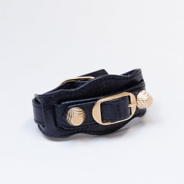 Leather Giant Stud Bracelet