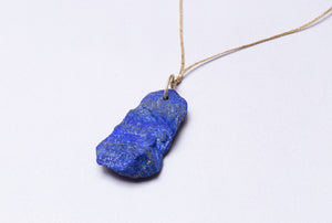 Lapis Uncut Necklace