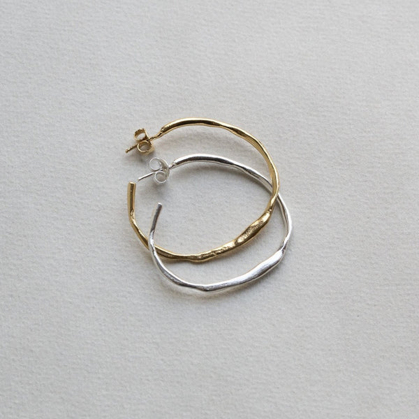 fantastically original irregular large hoops