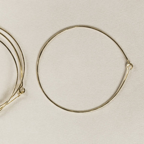 Mary MacGill super simple gold-filled bangles