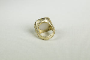 Granulation Druzy Ring