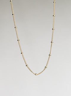 Molo Gold-Filled Ball Chain
