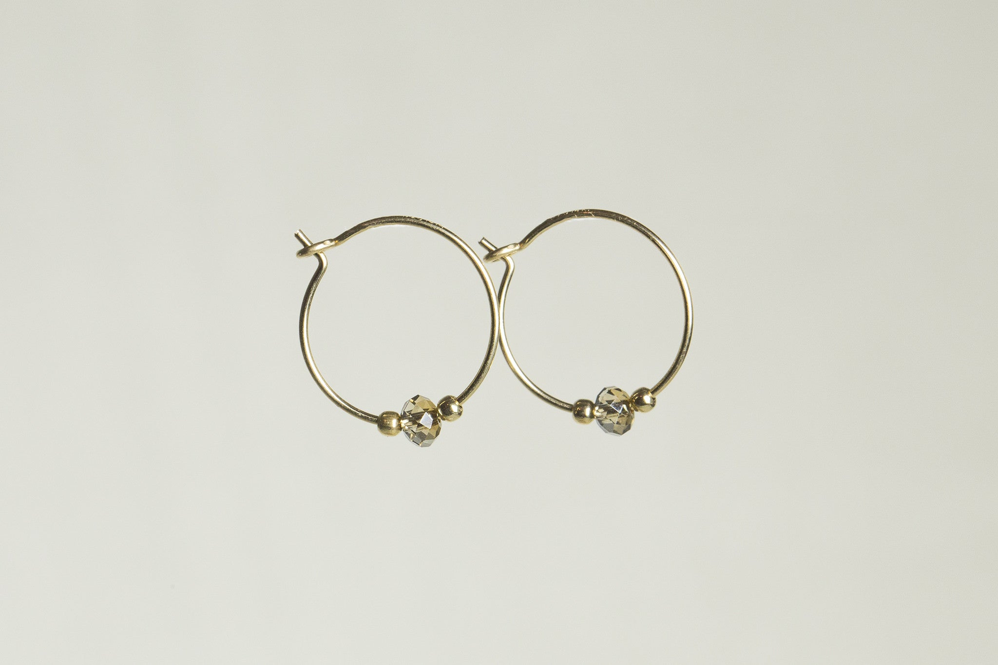 delicate hoops suitable for any age!