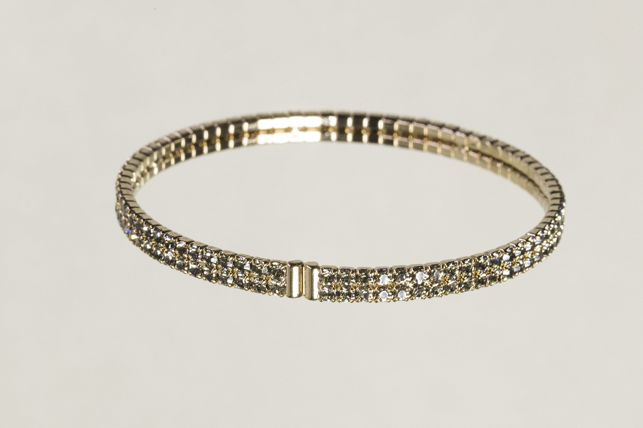 the back of the bangle - the bangle is easy to pull apart and is comfortable on the wrist