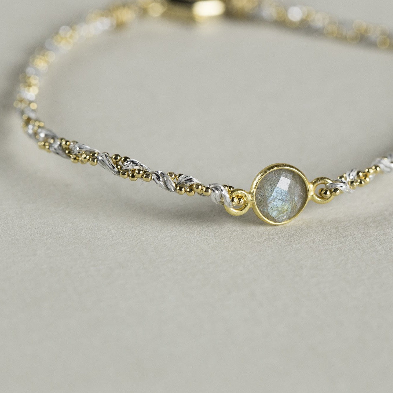 an atmospheric labradorite bracelet that has proved a hit with our customers