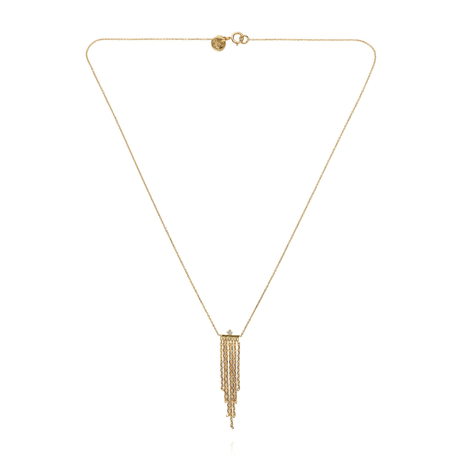 Fringe Diamond Necklace