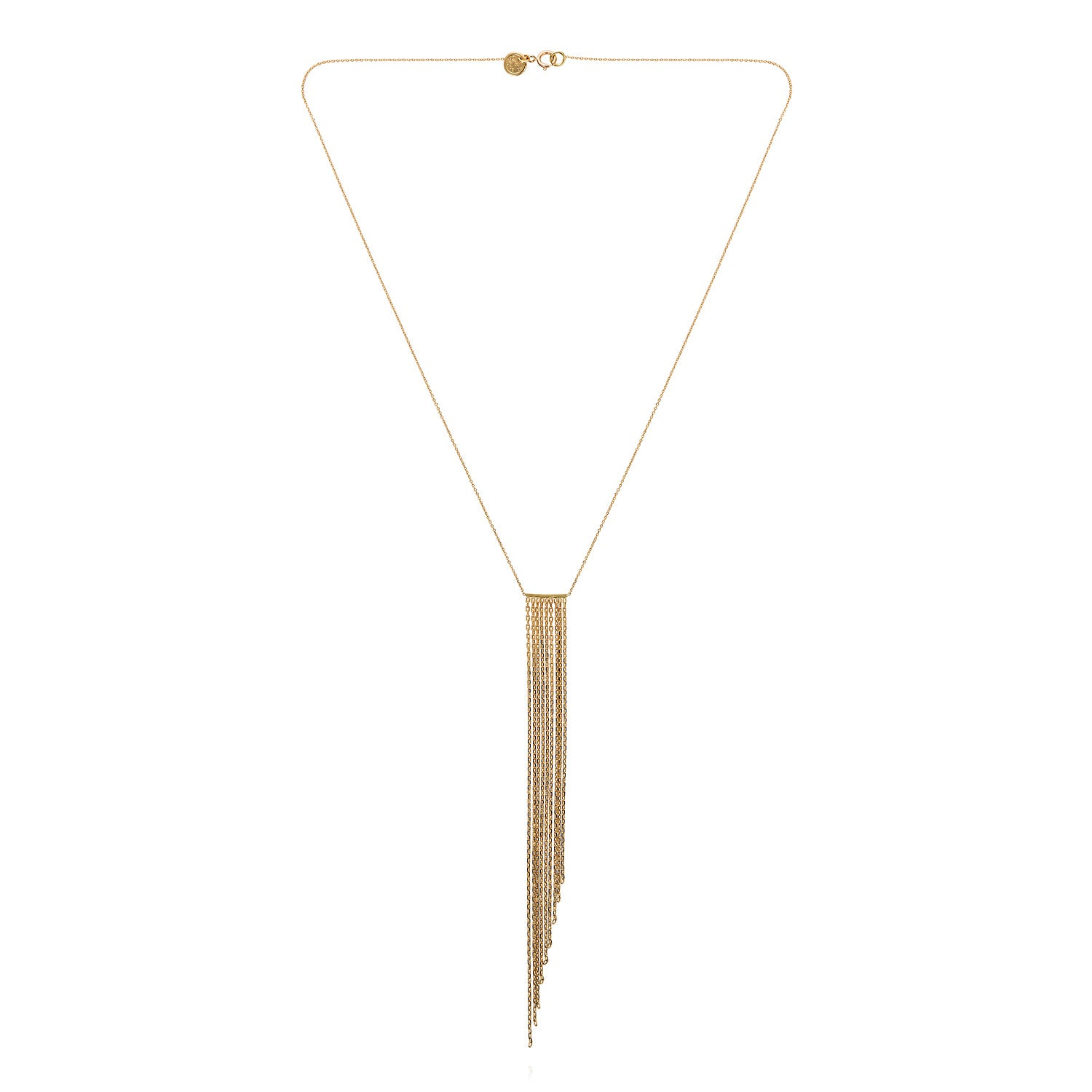 Fringe Sloped Necklace