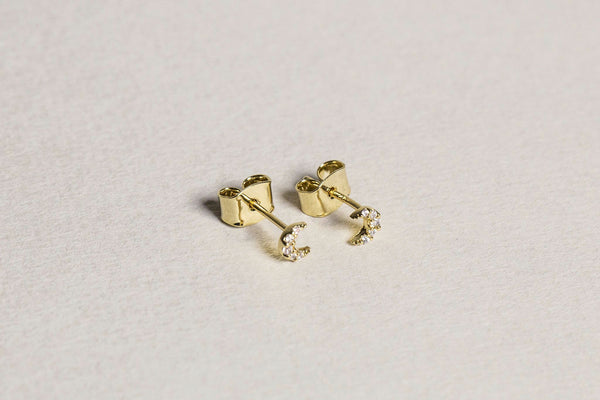 great for matching with other Tai stud earrings, also available on feltlondon.com