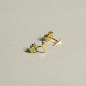 pictured here with butterflies, the shard earrings are one of many Tai studs we stock on feltlondon.com!
