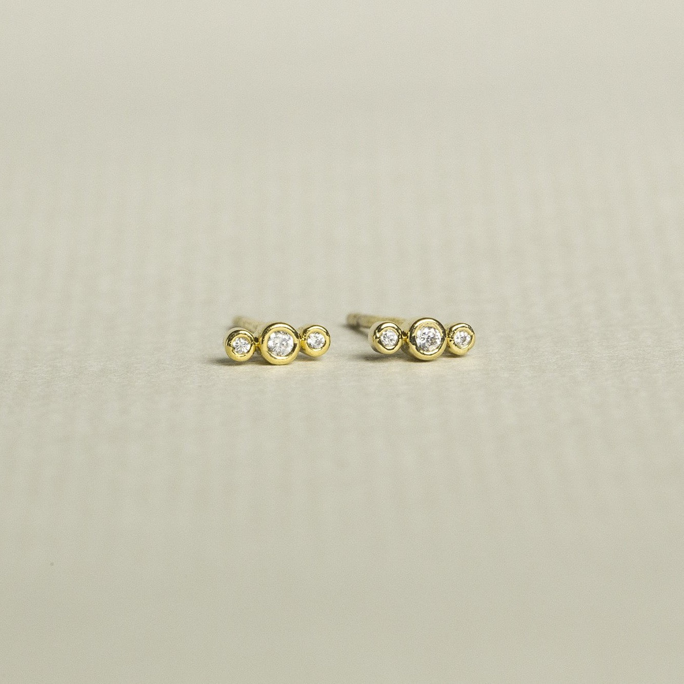 Tai Crystal Satellite Stud Earrings