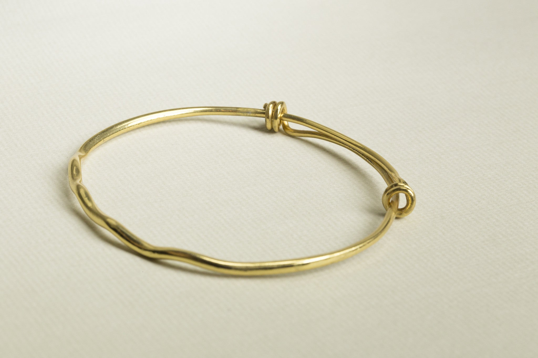 Gold Plated Resizable Slave Bangle