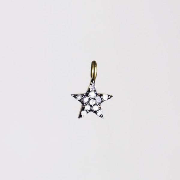 super sparkly diamond star pendant