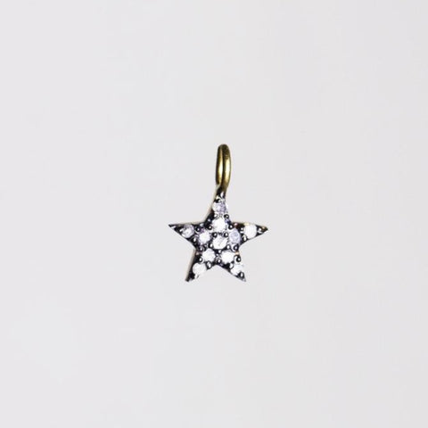 felt Small Diamond Star Charm