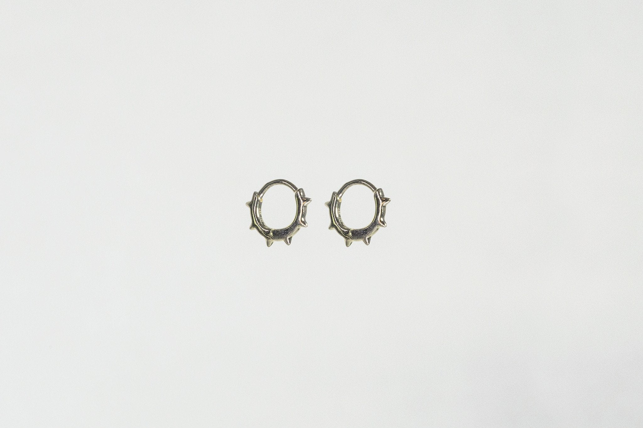 perfect for rim or lobe piercings the hoops have a secure lock mechanism