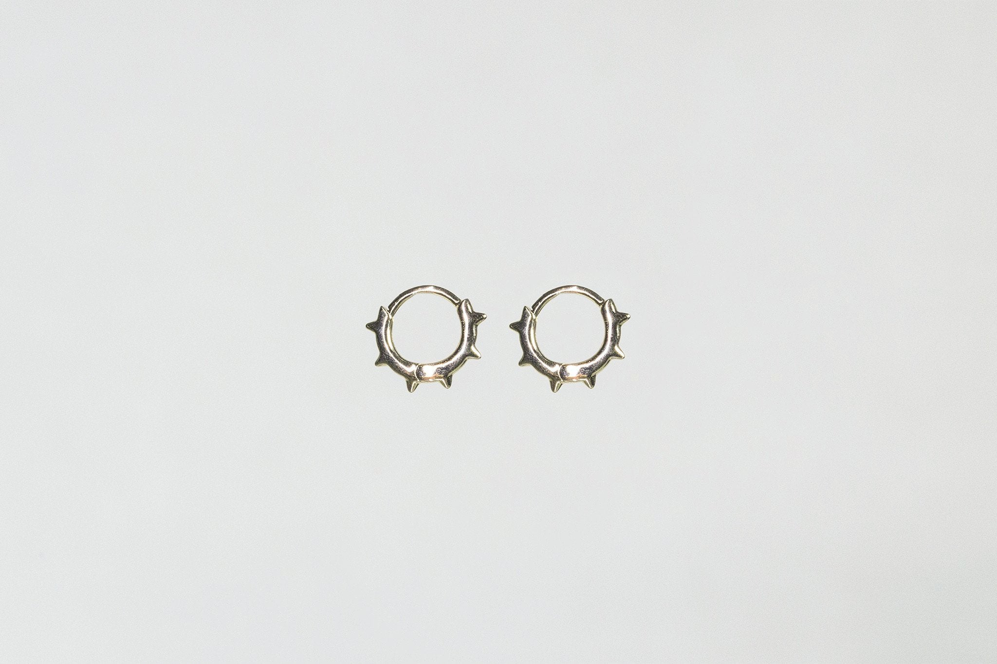 our absolute fav - spiky sleepers - hoops that everyone loves!