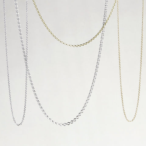 felt 9ct Gold Super Hero Chains