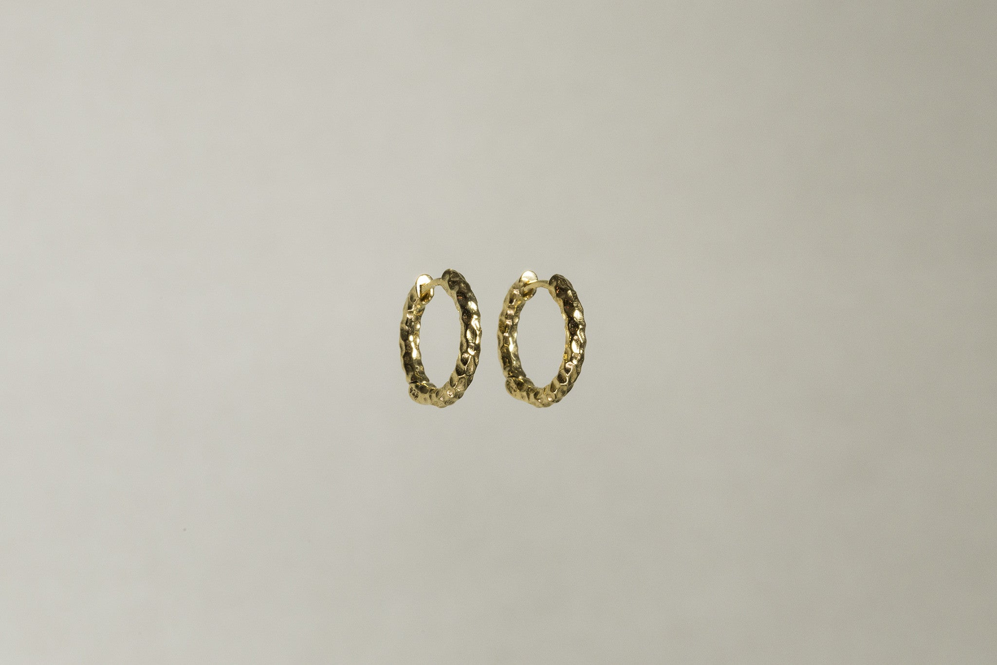 wonderfully different these hammered hoops look amazing on anyone