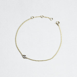 Gold and Diamond Bracelet (Large)