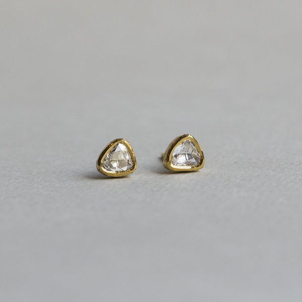 each earring is unique and therefore no pair will look exactly the same
