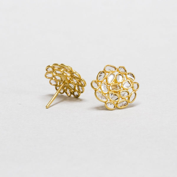 design like this requires incredible skill - the back view of the earring