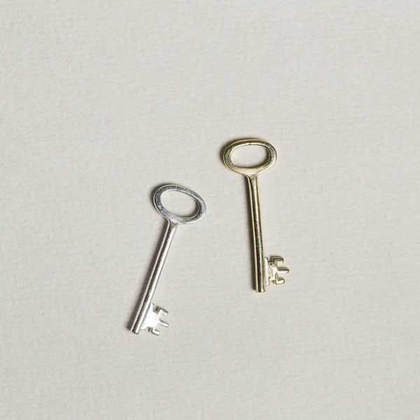 felt vintage design inspired key charm