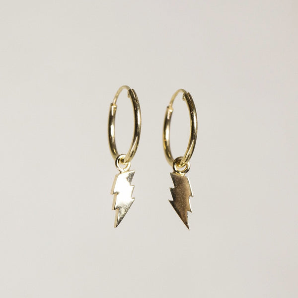 striking ;) sleepers - made of gold plated silver