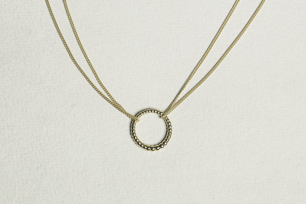 Majestic Circle Necklace