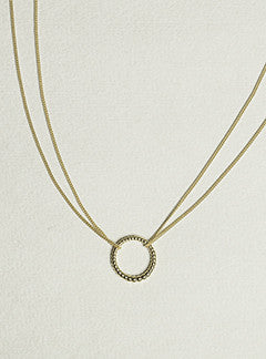 Laura Gravestock Majestic Circle Necklace