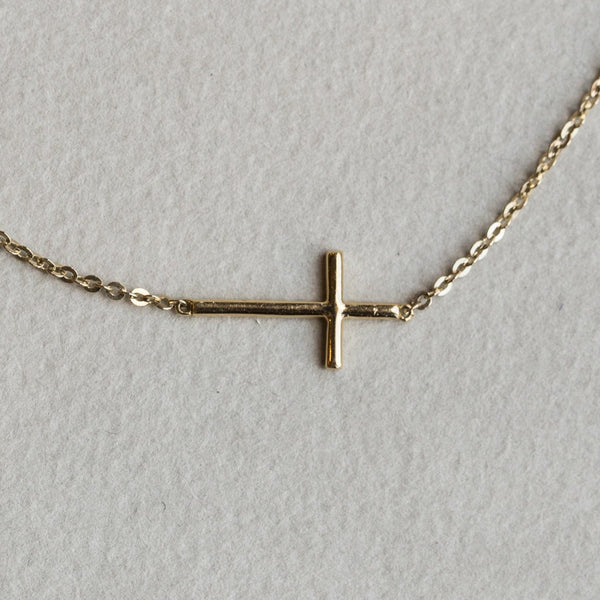 the back of the cross has a smooth finish