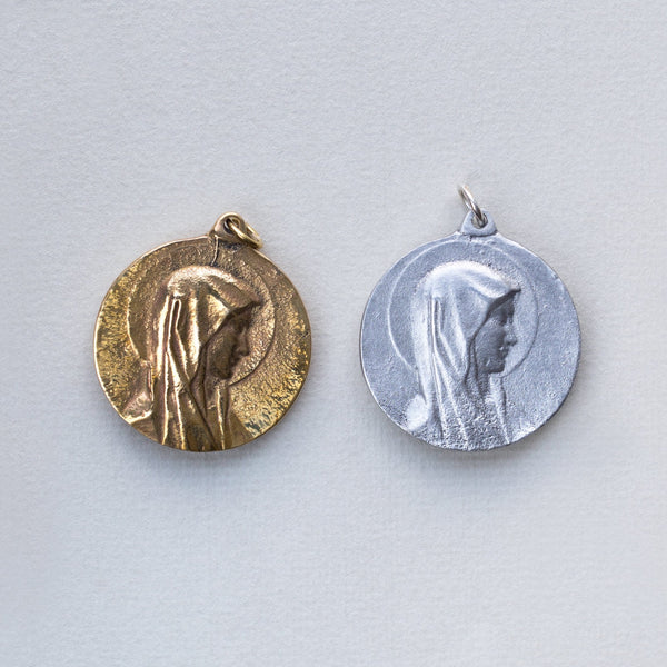 from left to right : Brass and Aluminium