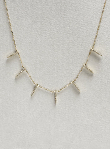 Sunbeam Diamond Necklace