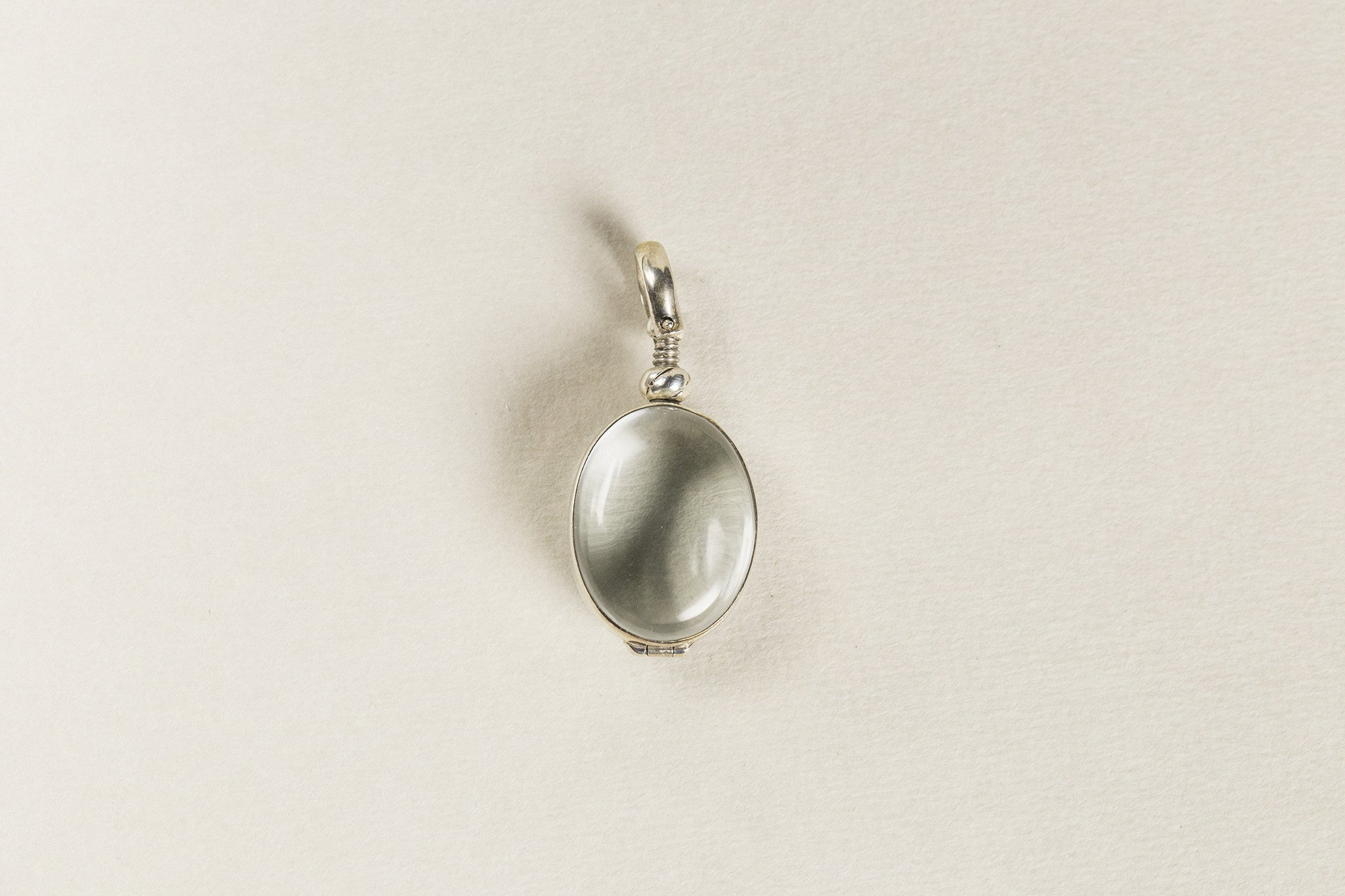 also available on feltlondon.com is an oval version of the round locket