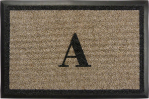"Samson Monogram  ""A"" Door Mat"
