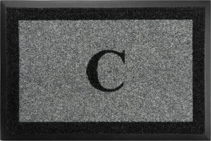 "Samson Monogram ""C"" Door Mat"