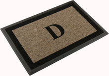 "Load image into Gallery viewer, Samson Monogram ""D"" Door Mat"