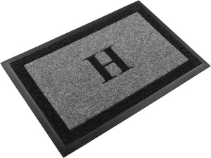 "Samson Monogram ""H"" Door Mat"