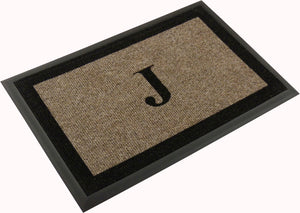 "Samson Monogram ""J"" Door Mat"