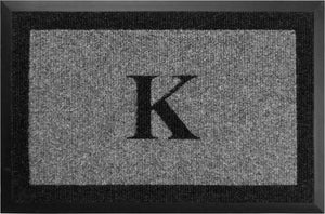 "Samson Monogram ""K"" Door Mat"