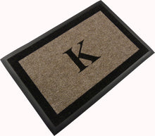 "Load image into Gallery viewer, Samson Monogram ""K"" Door Mat"