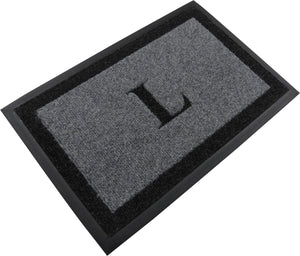 "Samson Monogram ""L"" Door Mat"