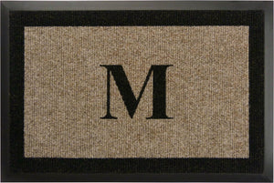 "Samson Monogram ""M"" Door Mat"