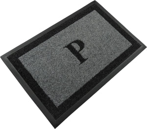 "Samson Monogram ""P"" Door Mat"