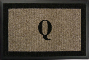 "Samson Monogram  ""Q"" Door Mat"