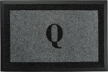 "Load image into Gallery viewer, Samson Monogram  ""Q"" Door Mat"
