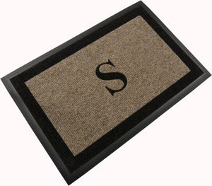 "Samson Monogram ""S"" Door Mat"