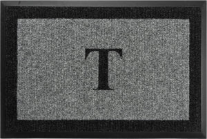 "Samson Monogram ""T"" Door Mat"
