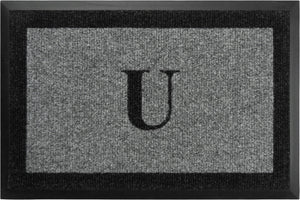 "Samson Monogram ""U"" Door Mat"