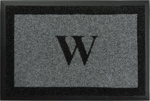 "Samson Monogram ""W"" Door Mat"