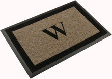 "Load image into Gallery viewer, Samson Initial ""W"" Door Mat"